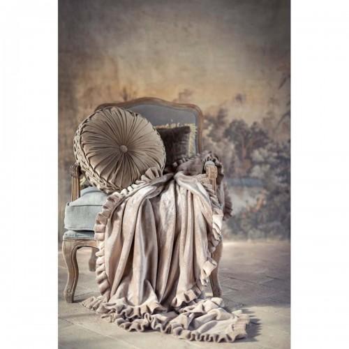 Blanc Mariclo' plaid cm 140x170 con gala
