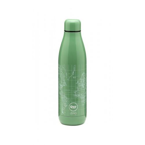QUY CUP bottiglia termica 500 cl, doppia camera acciaio, 12 ore caldo 24 ore freddo