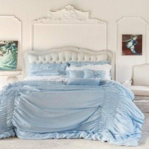 Blanc Mariclò Trapunta Matrimoniale con 2 Federe e 3 Cuscini Arredo Serie Dream