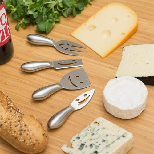set 4 coltelli simpaticissimi per formaggi mod. Happy