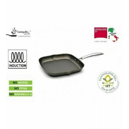 bistecchiera antiaderente diam 28 Giannini serie Vegetalia PROMOZIONE