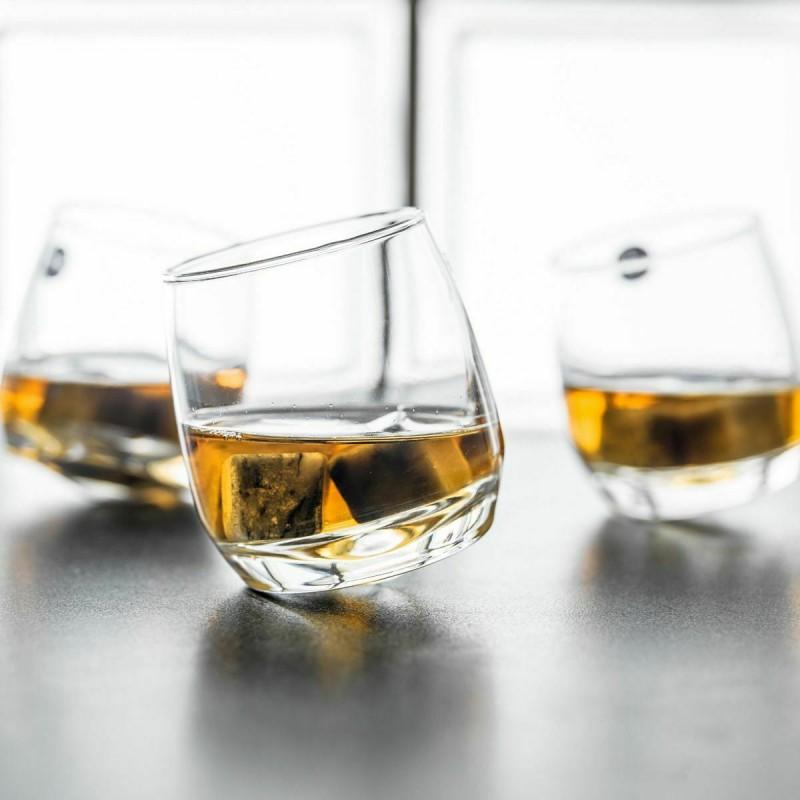 Set 6 bicchieri Trottola, Rum, Whisky
