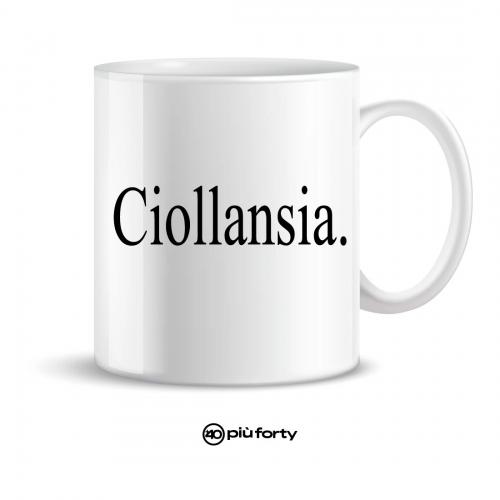 """tazza mug """"ciollansia"""""""