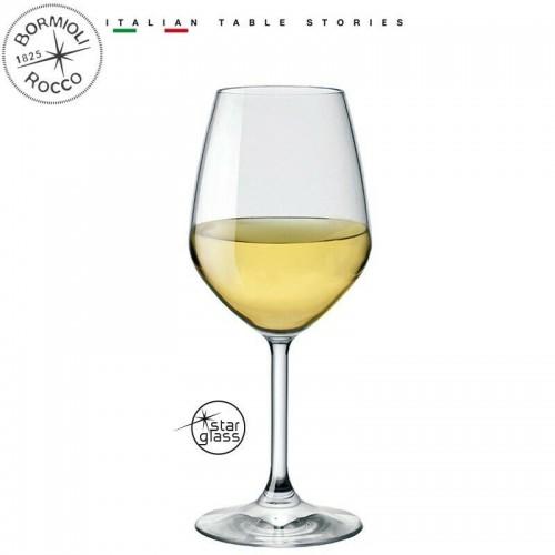 Calice vino bianco collezione divino cristallino