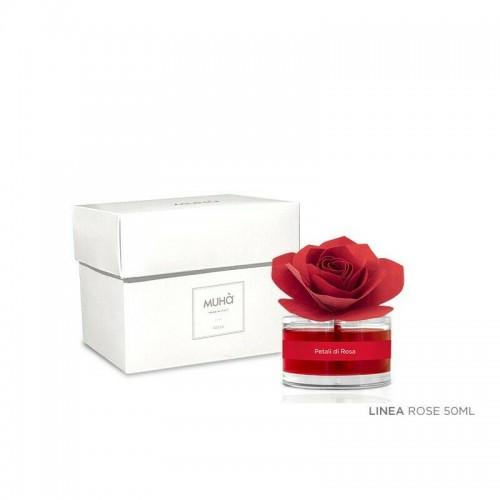 Profumatore d'ambiente MUHA Rose luxury 50 ml AMBRA E VANIGLIA PURA